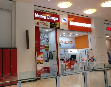 Money Changer In Nu Sentral Mall Full Currency Exchange Rates